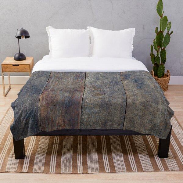Wooden Throw Blanket