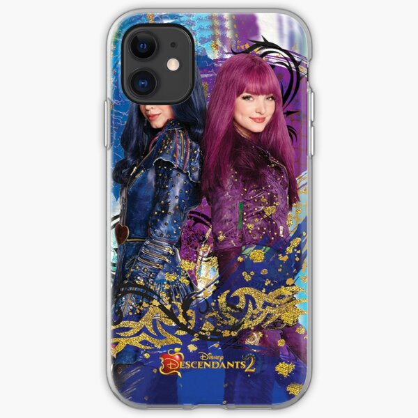 descendants poster iPhone Soft Case