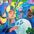 The Ocean Goddess  by Niina Niskanen