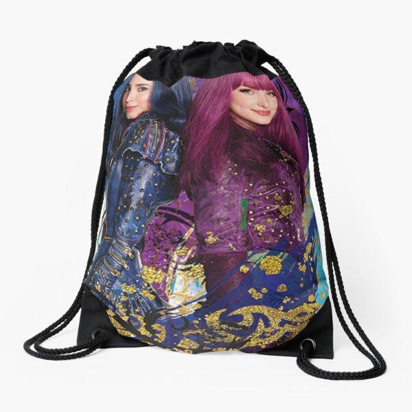 descendants poster Drawstring Bag