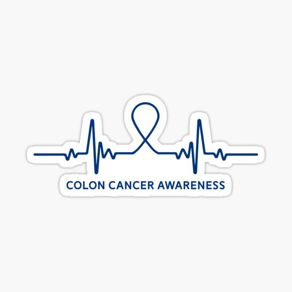 Colon Cancer Mom Stickers Redbubble