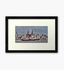 Royal Iris of the Mersey Framed Print