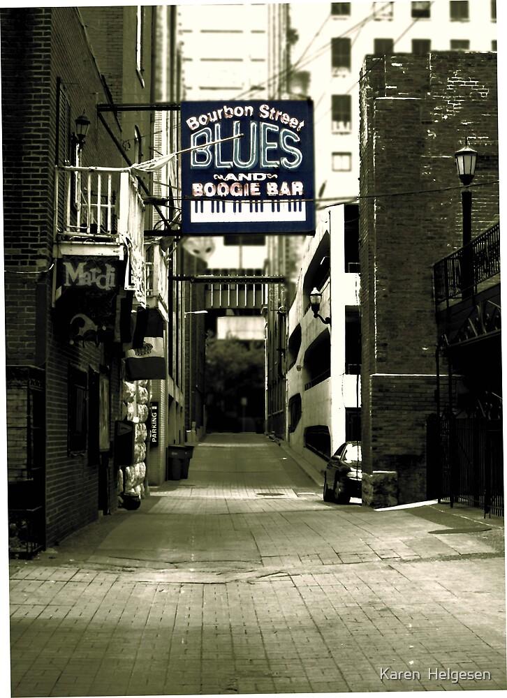 Nashville Blues.... by Karen  Helgesen