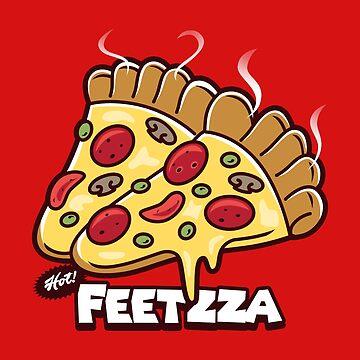Feetzza by BoggsNicolasArt