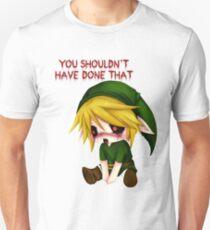 Camiseta unisex No deberías haber hecho eso - Creepypasta Chibi Ben