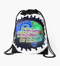 Different- normal but better Drawstring Bag