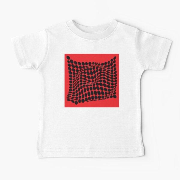 COME INSIDE (RED/BLACK) Camiseta para bebés