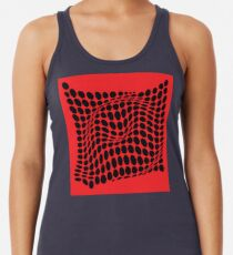 COME INSIDE (RED/BLACK) Camiseta con espalda nadadora