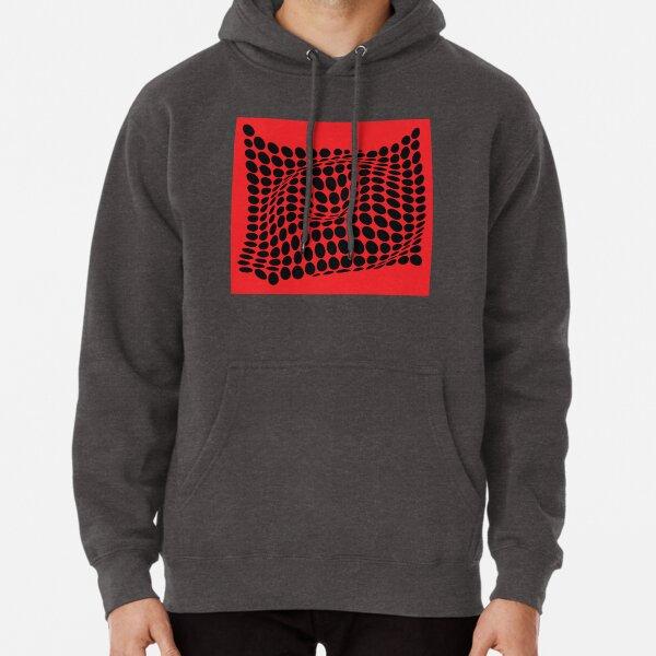 COME INSIDE (RED/BLACK) Sudadera con capucha