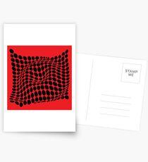 COME INSIDE (RED/BLACK) Postales