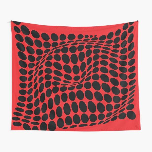 COME INSIDE (RED/BLACK) Tela decorativa