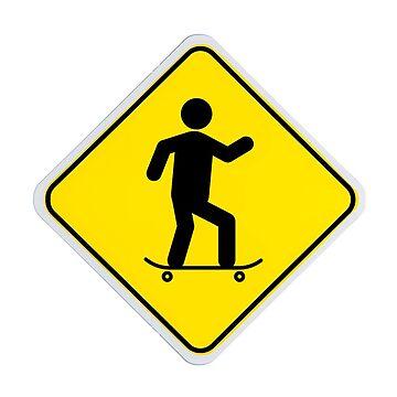 Beware! skater by mpadesigns