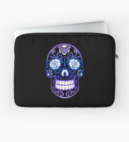 Totenkopf, Totenschädel, Sugar Skull Laptoptasche
