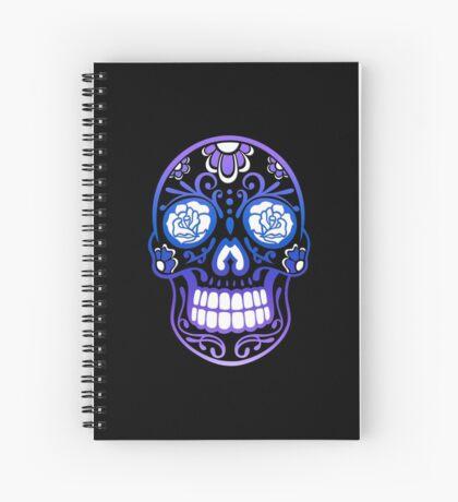Totenkopf, Totenschädel, Sugar Skull Spiralblock