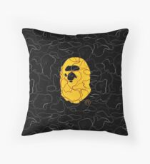 A Bathing Ape Bape Throw Pillow