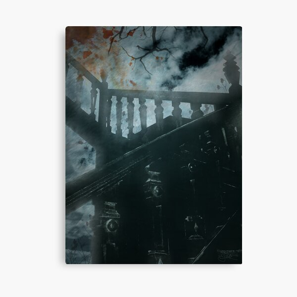 Not the Stairway to Heaven Canvas Print