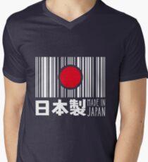 Camiseta de cuello en V Hecho en Japón