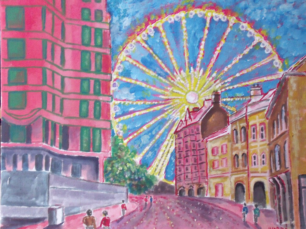 Sheffield Wheel by Ivor