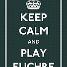 Keep Calm and Play Euchre by CafePretzel