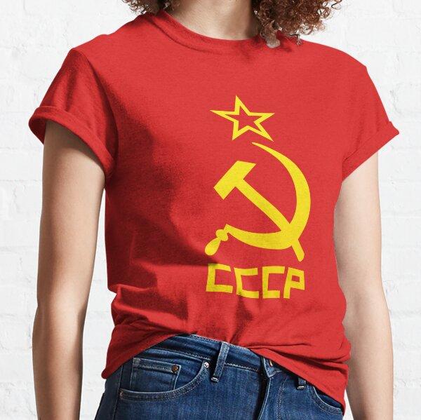 CCCP yellow T-shirt classique