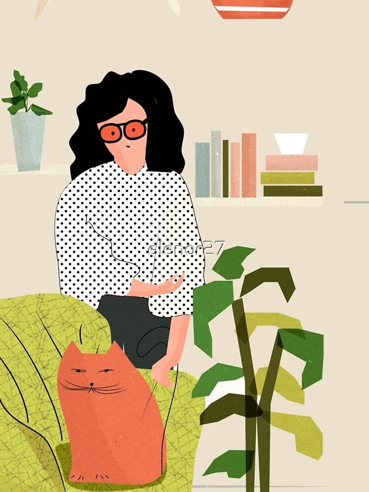 Bücher und Katzen von elenor27
