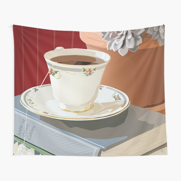 Teacup and Childhood Classics Tapestry