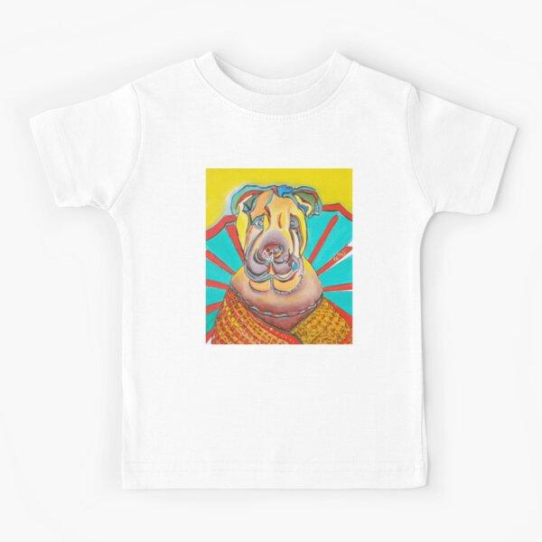 Beach Dog Kids T-Shirt