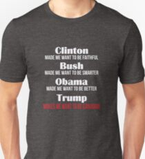 Trump Makes Me Want To Be Canadian Slim Fit T-Shirt