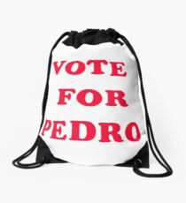 Vote for Pedro, Motion Picture Placement Drawstring Bag