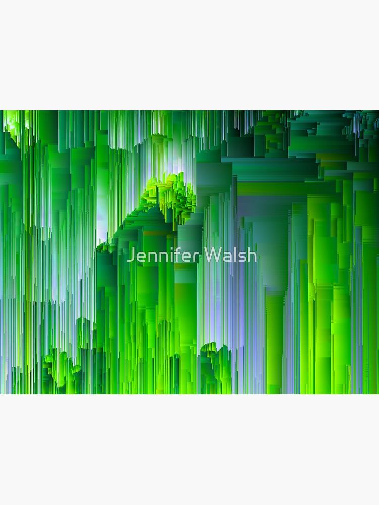Nature Glitchin' - Abstract Pixel Art by InsertTitleHere