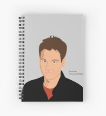Ted Mosby the Architect Spiral Notebook