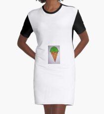 Vestido camiseta helado fresco