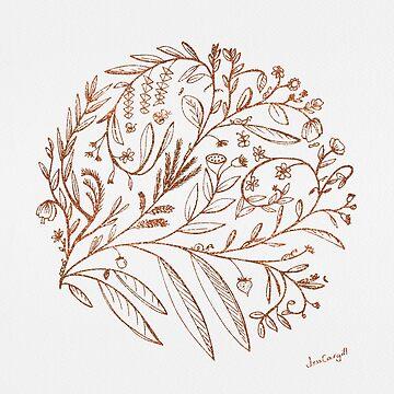 Garden of Possibilities in Copper by Jess Cargill by jesscargill