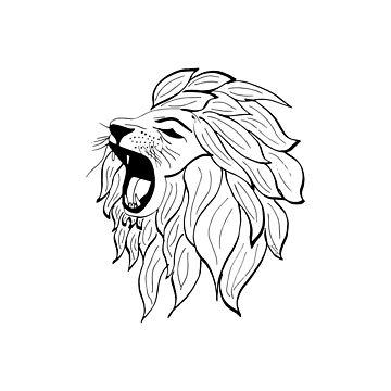 Roaring Lion by jesscargill