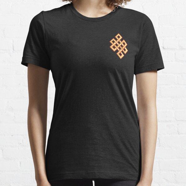 Buddhist T-Shirt - Auspicious Endless Knot Pocket T-Shirt Essential T-Shirt