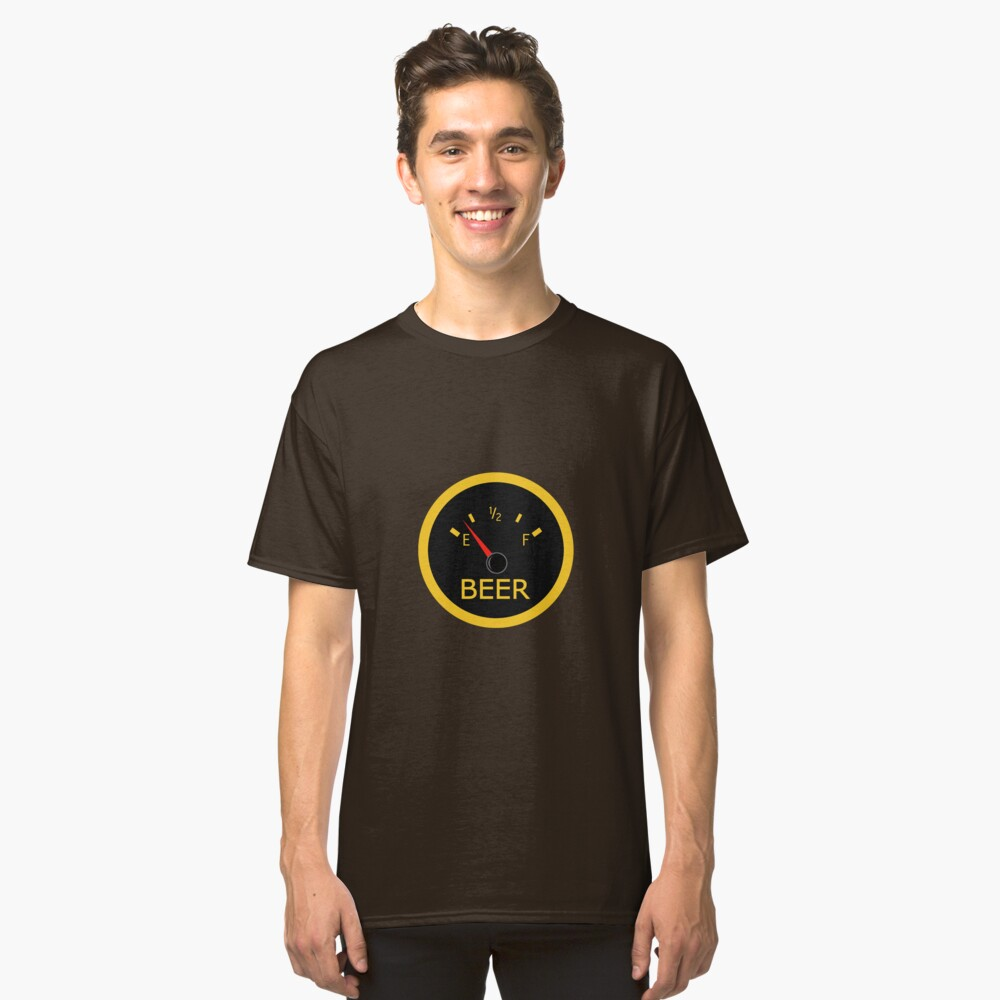 Running on Empty Classic T-Shirt Front