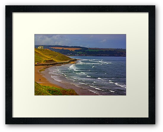 Whitby to Sandsend by Trevor Kersley
