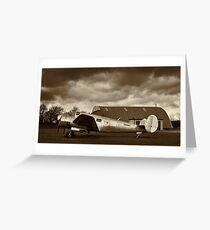 Beechcraft 18 Expeditor - II Greeting Card
