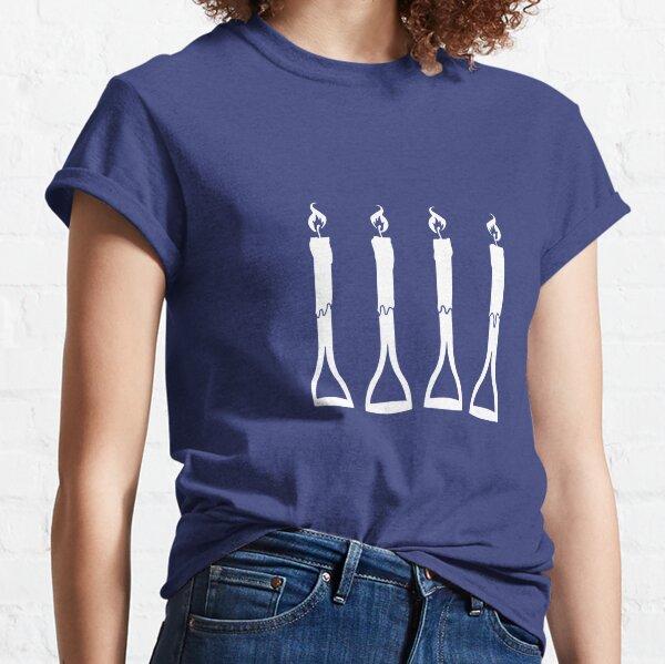 ¿Asas de tenedor o cuatro velas? Camiseta clásica