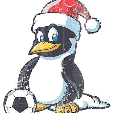 Christmas Penguin Soccer  by frittata