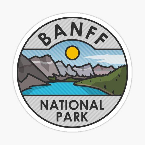 Banff National Park Basic Sticker