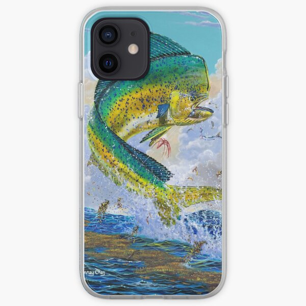 Mahi Hook Up iPhone Soft Case