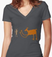 The Hunted Women's Fitted V-Neck T-Shirt