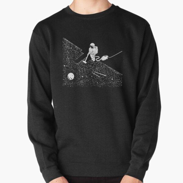 Space Vacuuming T-Shirt  Pullover Sweatshirt