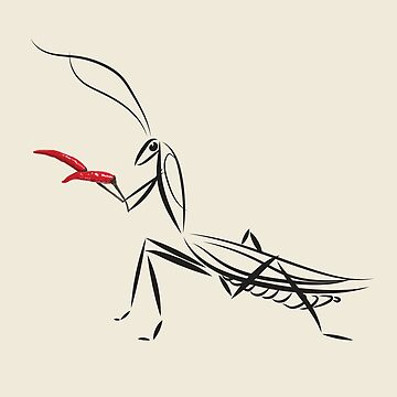 praying mantis martial arts by kimtangdesign