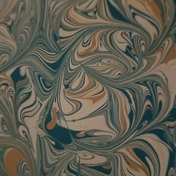 Turquoise Swirl #3 by Clestelia