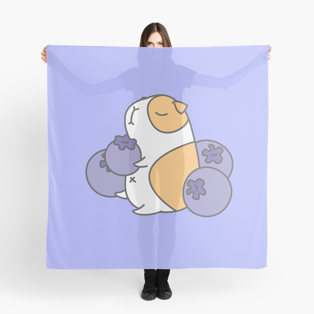 Guinea pig and blueberry  Scarf