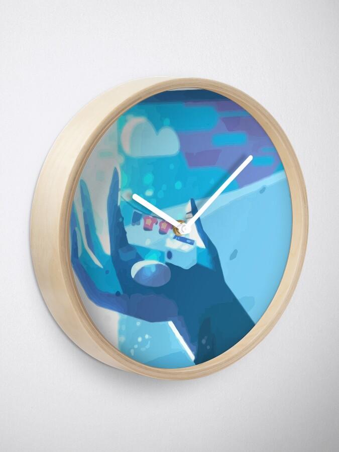 Alternate view of Steven's Laundry Clock