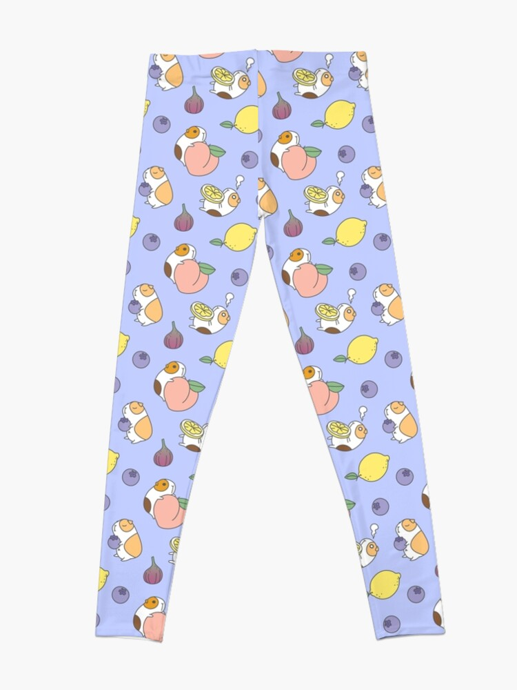 Alternate view of Guinea pig and blueberry  Leggings