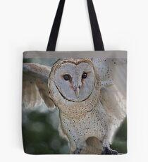 Barn Owl spread Tote Bag